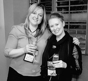 CMCon16: Champagne toast with DVK & Jan DeLima