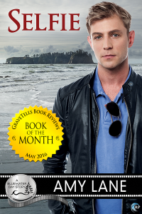 GraveTells Book of the Month May 2016 - Selfie by Amy Lane