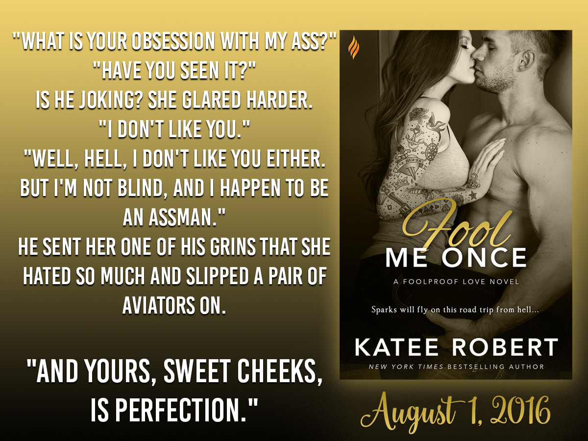 Katee Robert - Fool Me Once - Obsession promo