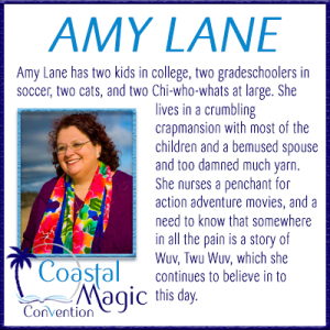Amy Lane, Coastal Magic 2017 Featured Author