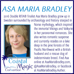 Coastal Magic Convention 2017 Featured Author Asa Maria Bradley