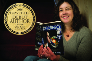 2016 GraveTells Debut Author of the Year - Lea Kirk
