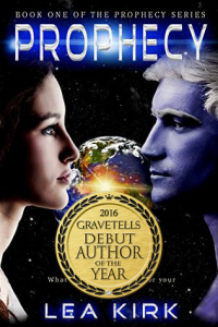 Prophecy (Prophecy #1) by Lea Kirk - 2016 GraveTells Debut Author of the Year
