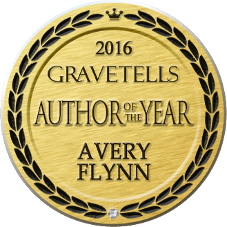2016 GraveTells Author of the Year - Avery Flynn