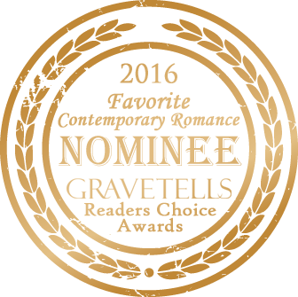 2016 GraveTells Readers Choice Favorite Contemporary Romance nominee