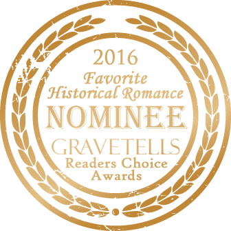 2016 GraveTells Readers Choice nominee for Favorite Historical Romance