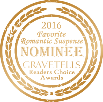 2016 GraveTells Readers Choice nominee for Favorite Romantic Suspense