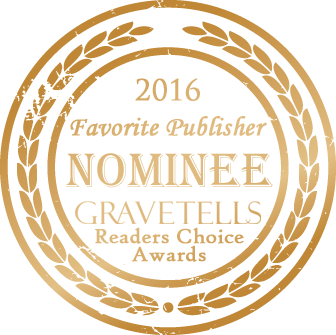 2016 GraveTells Readers Choice nominee for Favorite Publisher
