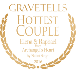 2016 GraveTells Readers Choice Awards: Hottest Couple - Elena and Raphael from Archangel's Heart by Nalini Singh