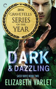 Dark & Dazzling (Sassy Boyz #2) by Elizabeth Varlet - 2016 GraveTells Series of the Year