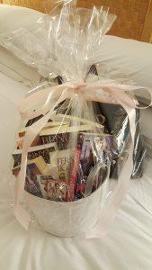 The SFARWA raffle basket