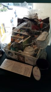 The GraveTells raffle basket
