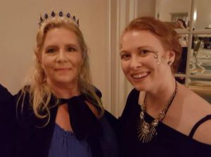Queen Graylin Fox...whose tiara I coveted