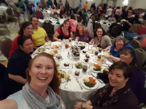 Lunch with an Author at CMCon17: Lara Adrian, Lisa Kessler, & Tonya Burrows