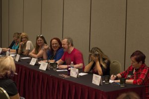 Intrepid authors Amy Lane, Julie Kenner, Dee Davis, Becky McGraw, Damon Suede, Lucienne Diver, and Kiernan Kelly