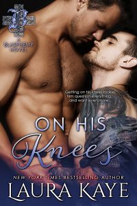 Laura Kaye's wicked hot new Club Blasphemy gay romance, ON HIS KNEES, will rock your world #BookReview #excerpt